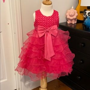 Other - Pink Pearl Party Dress size 3T